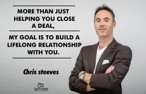 CHRIS STEEVES - YOUR FRIEND IN REAL ESTATE