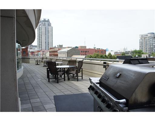 Bbq terrace chris steeves for 200 rideau terrace