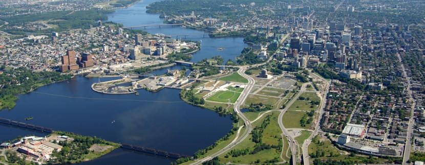 Lebreton Flats - Ottawa - Birdseye