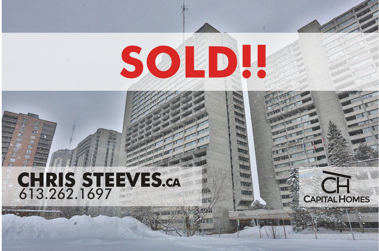 **SOLD** – 500 LAURIER #207 – CENTERTOWN CONDO