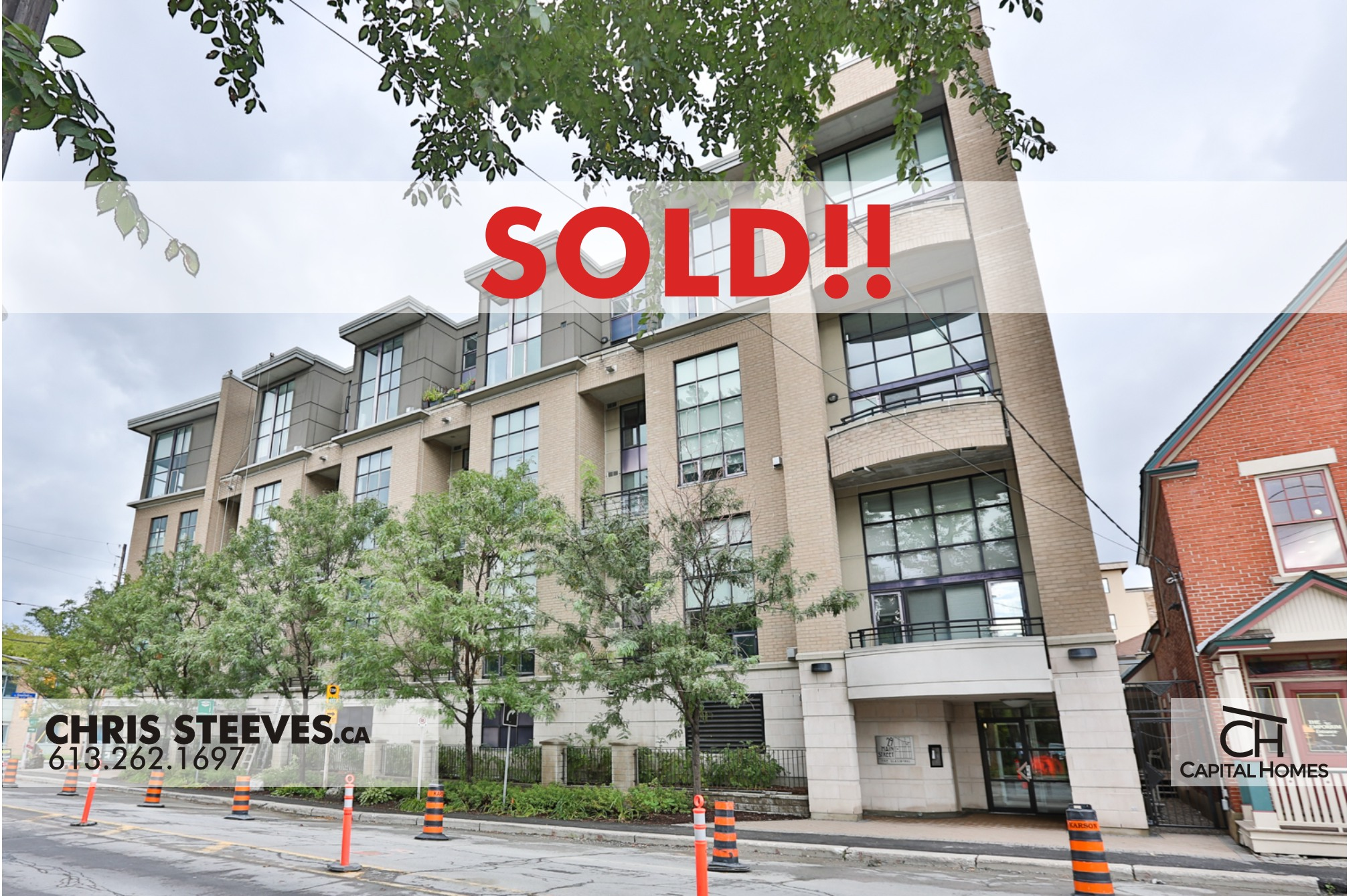 **SOLD** – 29 MAIN ST #202 – OTTAWA EAST