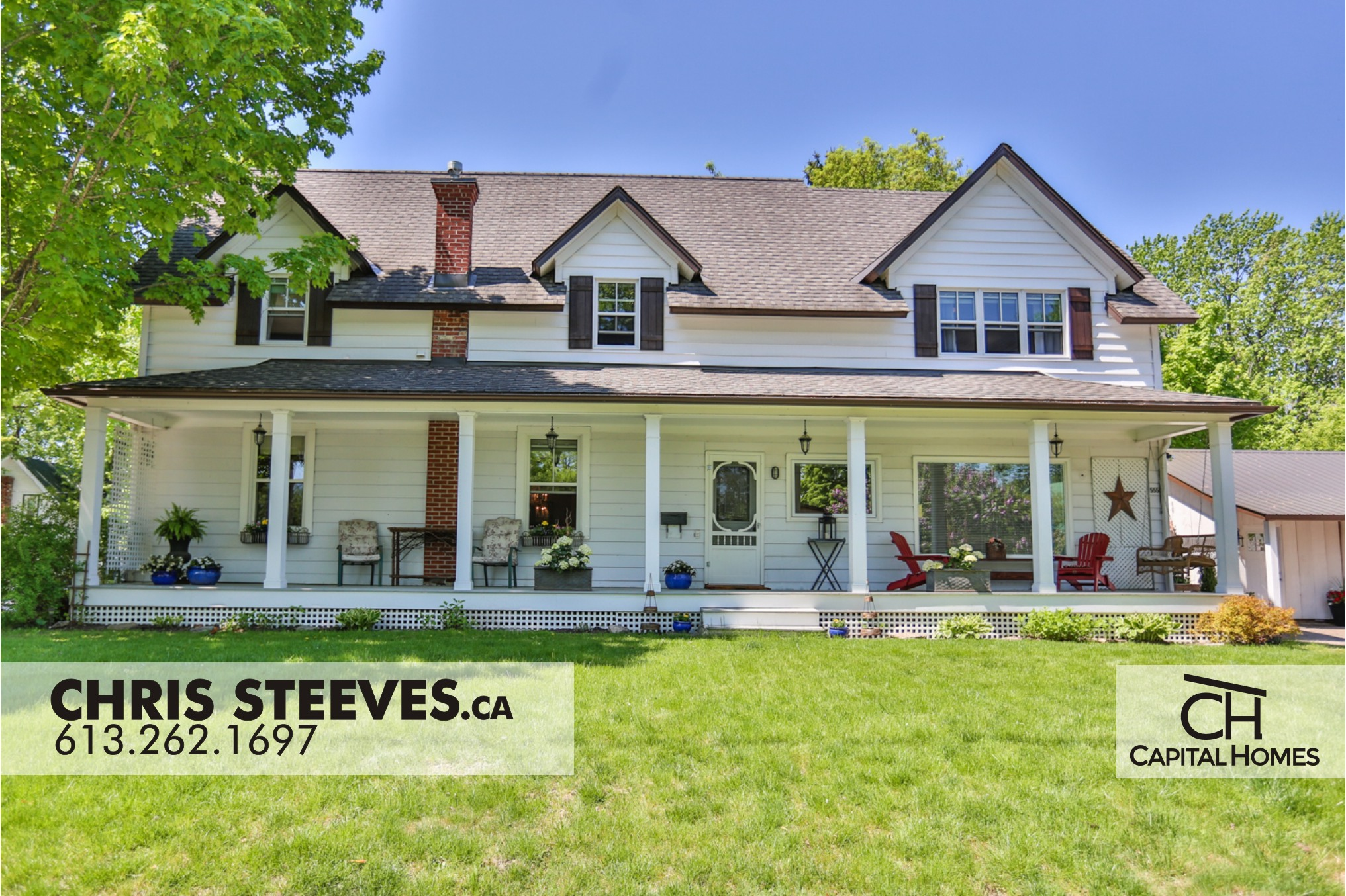 ** SOLD **  5550 DICKINSON ST – MANOTICK VILLAGE HERITAGE HOME