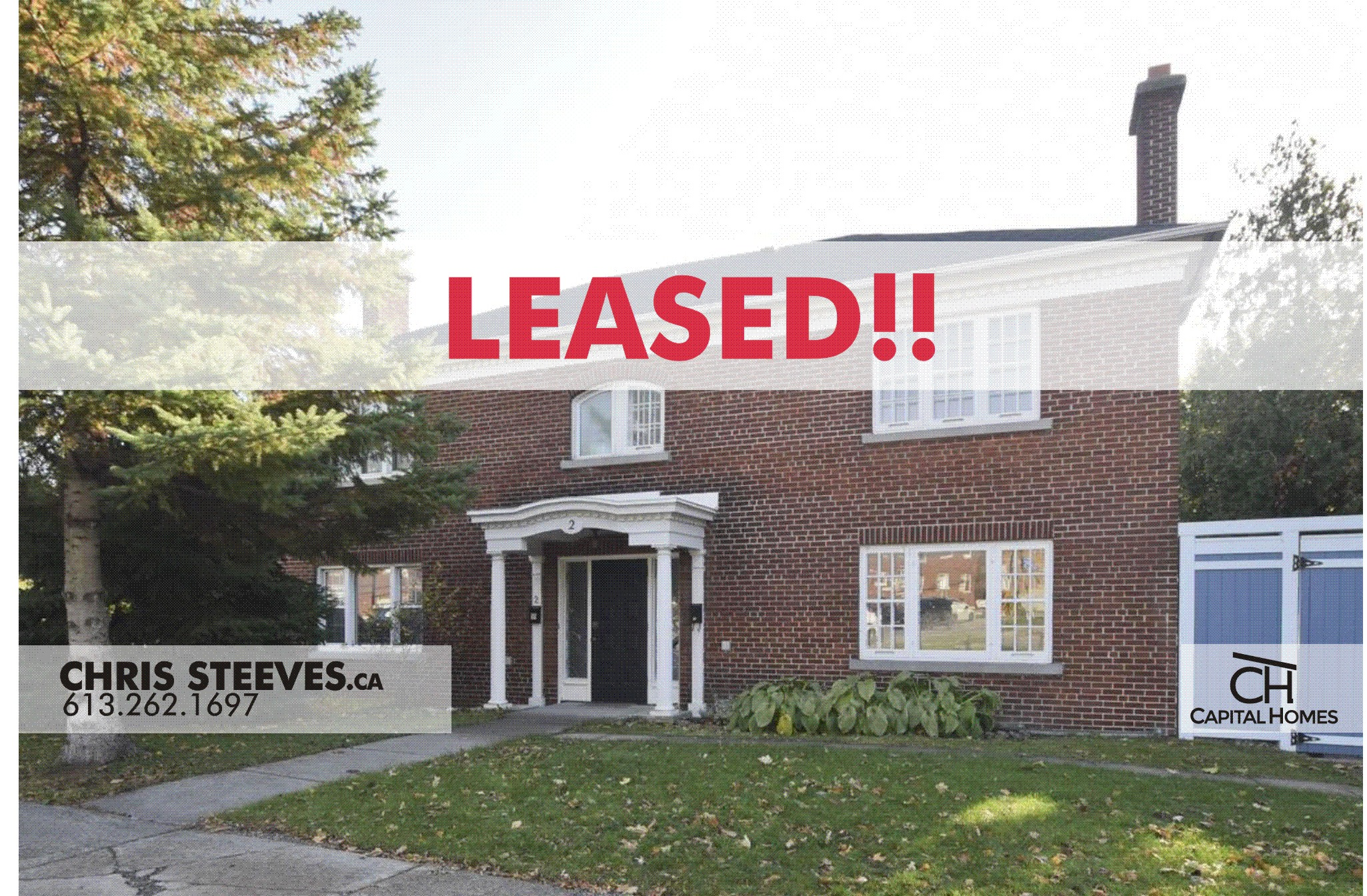 **LEASED** – 2 KIPPEWA DR, #A – DOWS LAKE OTTAWA HOME FOR RENT
