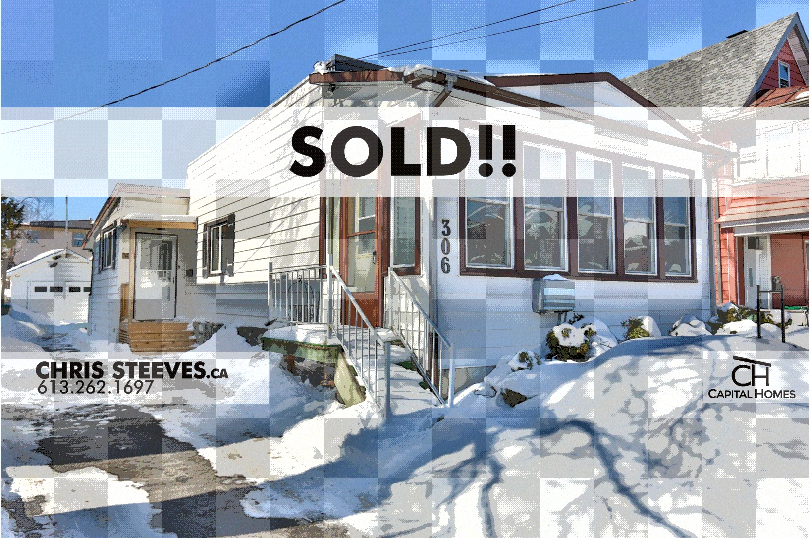 **SOLD**  – 306 HINCHEY AV – HINTONBURG