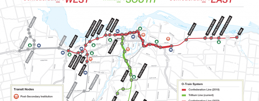 LRT STAGE 2 - OTTAWA MAP