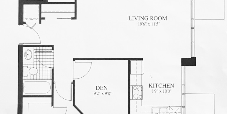 FLOORPLAN - 134 YORK #1405 Penthouse