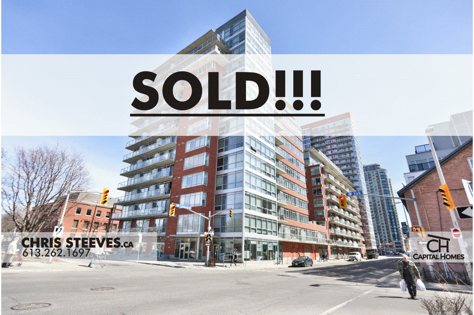 **SOLD**  – 180 YORK ST, #703 – BYWARD MARKET CONDO