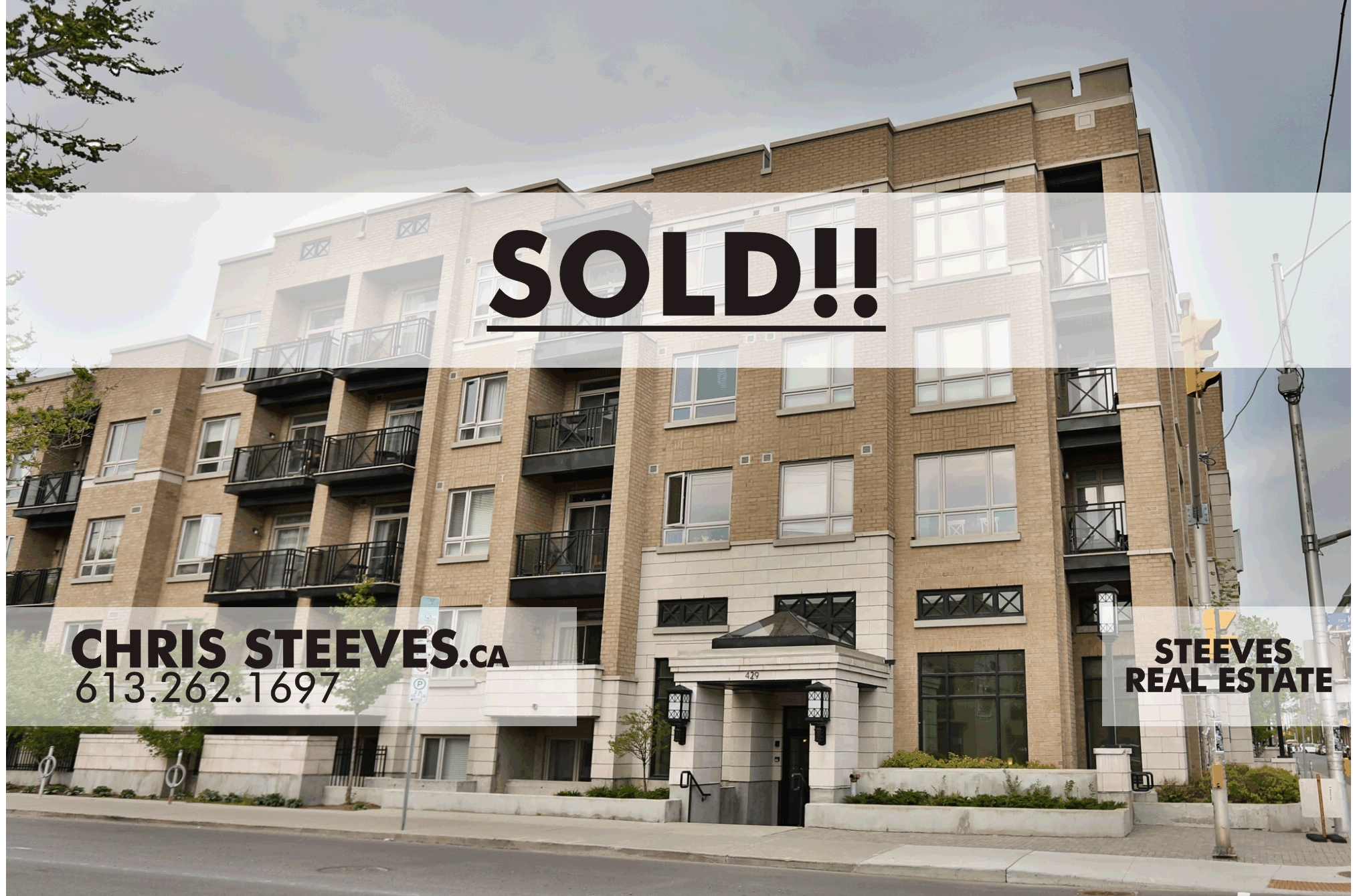 **SOLD**  – 429 KENT ST #320 – CENTERTOWN CONDO