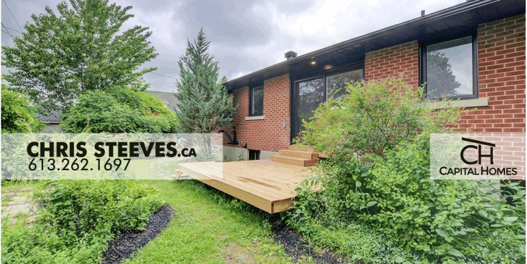 2314 RIDGECREST - ALTA VISTA, OTTAWA - CHRIS STEEVES REAL ESTATE - EXT BAC 3