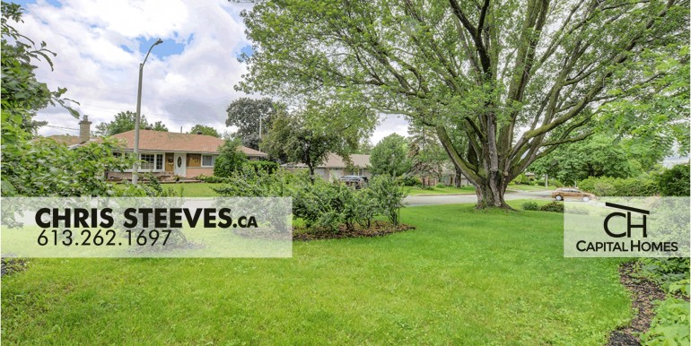 2314 RIDGECREST - ALTA VISTA, OTTAWA - CHRIS STEEVES REAL ESTATE - EXT SIDE 3