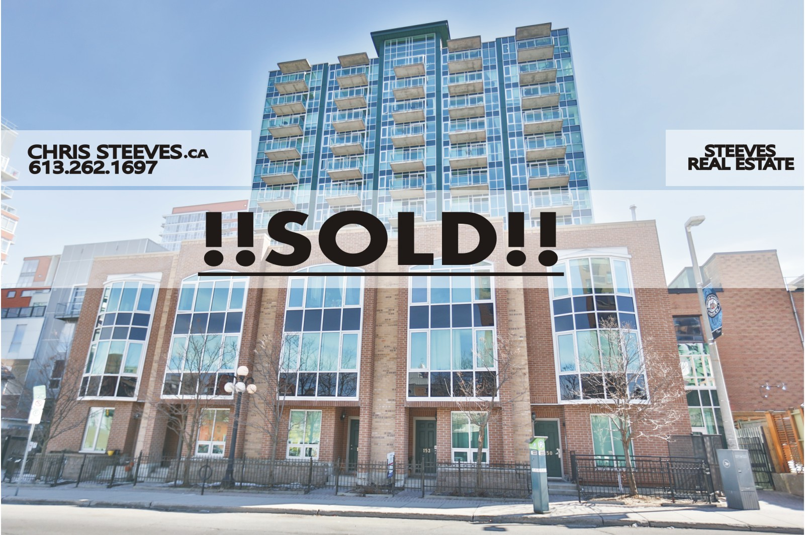 **SOLD**  134 YORK ST #1405 – BYWARD MARKET PENTHOUSE