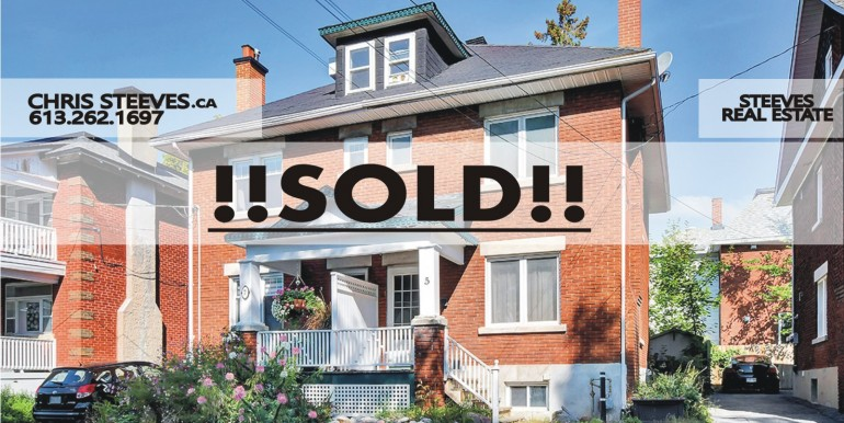 SOLD - 5 FOSTER ST - HINTONBURG HOME - OTTAWA REAL ESTATE