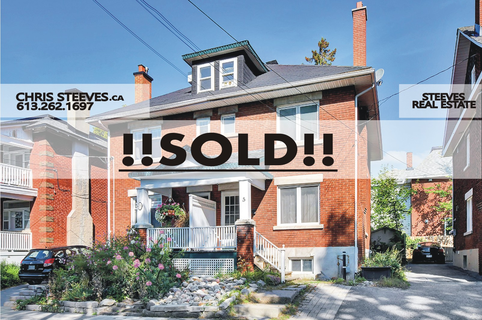 **SOLD**  – 5 FOSTER ST – HINTONBURG