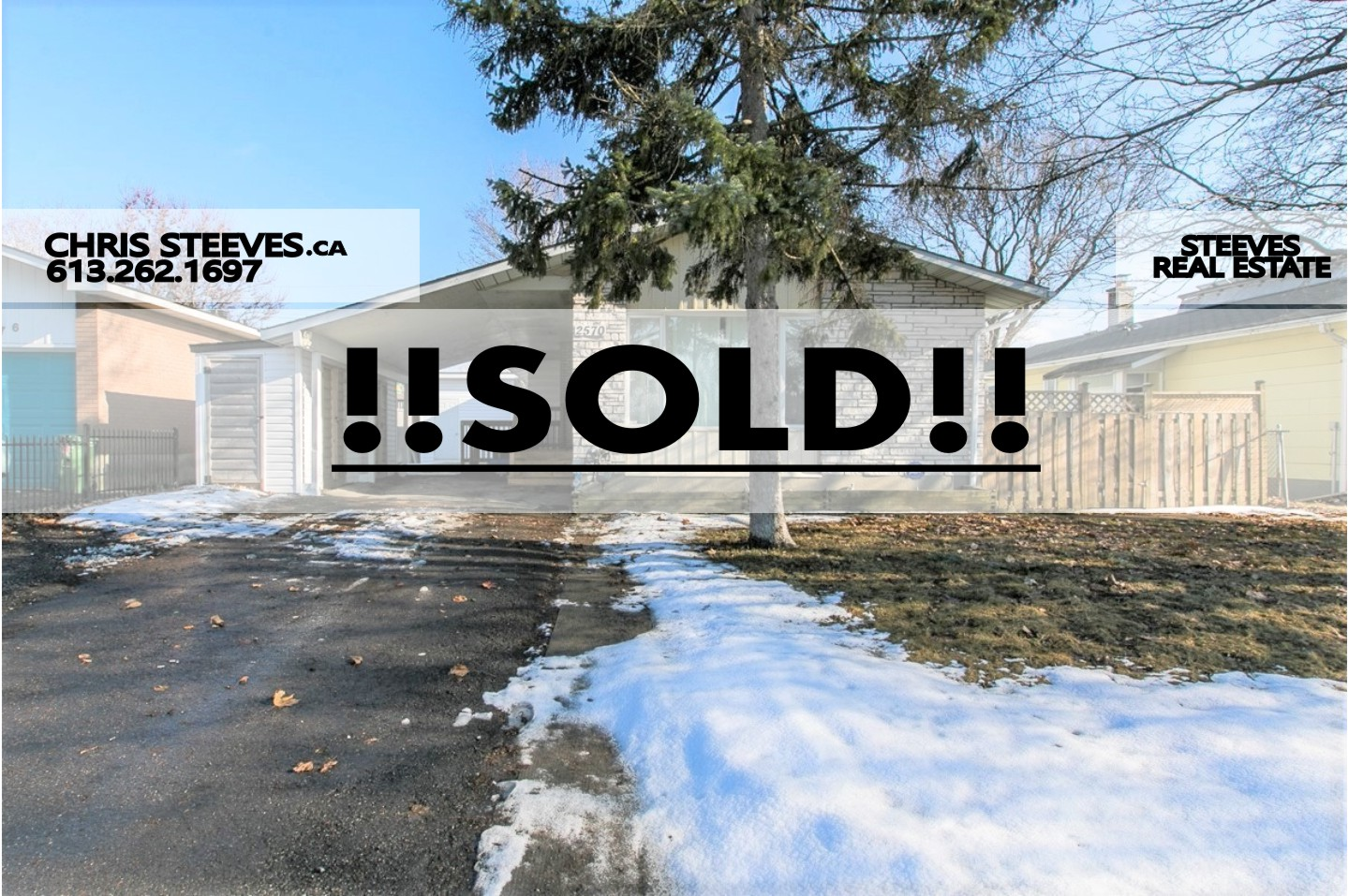 **SOLD**  – 2570 ROMAN AV – BUNGALOW WITH IN-LAW SUITE