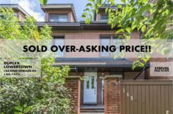 163 KING EDWARD - BYWARD MARKET DUPLEX - CHRIS STEEVES OTTAWA