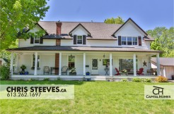 5550 DICKINSON - MANOTICK VILLAGE HOME FOR SALE BY CHRIS STEEVES