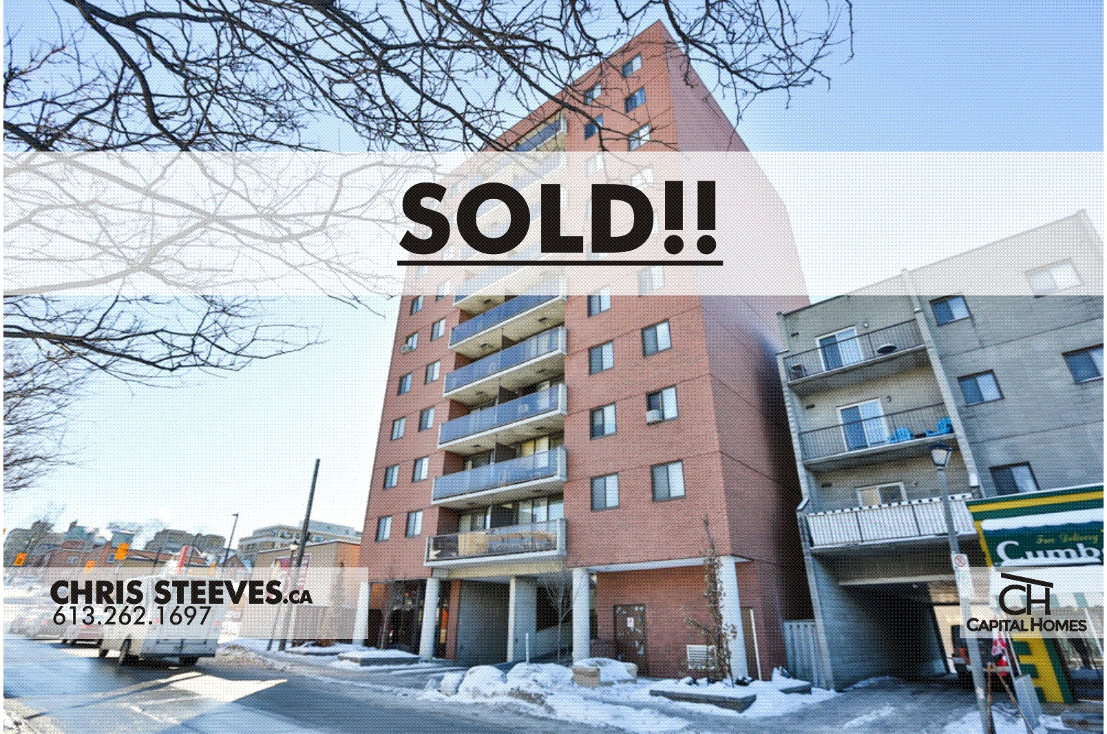 **SOLD** – 154 NELSON ST #803 – BYWARD MARKET CONDO