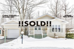 SOLD - 6600 VISTA PATRICK - OTTAWA REAL ESTATE - CHRIS STEEVES