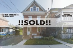 SOLD - OTTAWA EAST - 205 ROSEMERE AV - CHRIS STEEVES REAL ESTATE